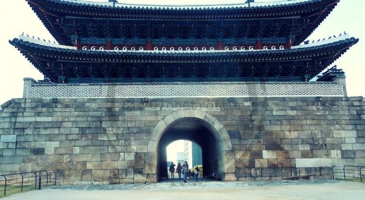 Namdaemun Gate (or Sungnyemun Gate) in Seoul, South Korea