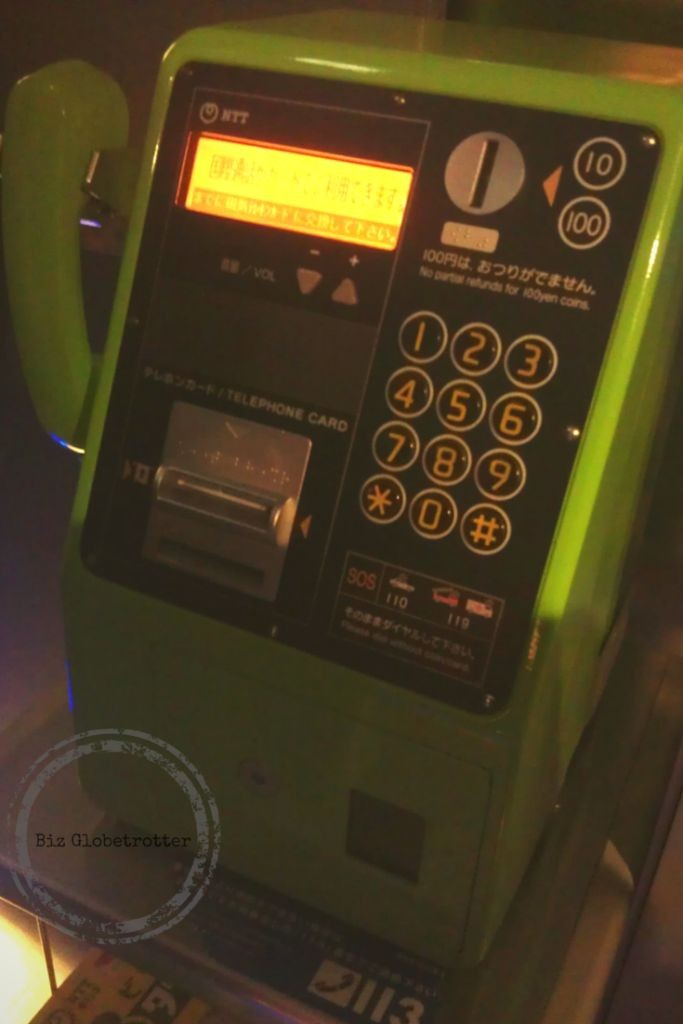 You might be able to find a Public Phone inside a station or even in the platform