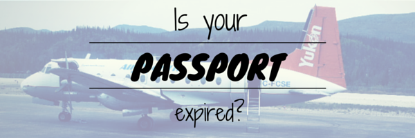 Have you check the expiry date of your Passport lately?