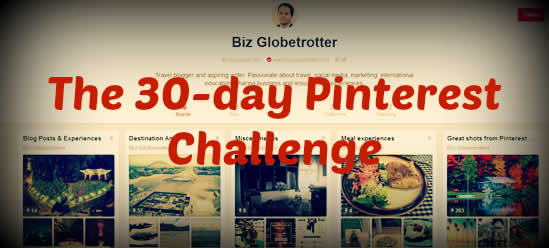 The 30-day Pinterest Challenge, Social Media Challenge, Growth